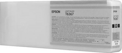 T6367 Light Light Black 700 мл (C13T636700) картридж epson t6367 light black для stylus pro 7900 9900 700 мл c13t636700