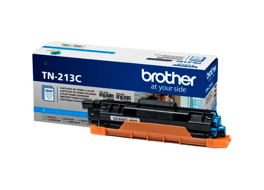 Фото - Тонер-картридж повышенной емкости Brother TN-213C (TN213C) тонер картридж повышенной емкости тип im c2500h жёлтый