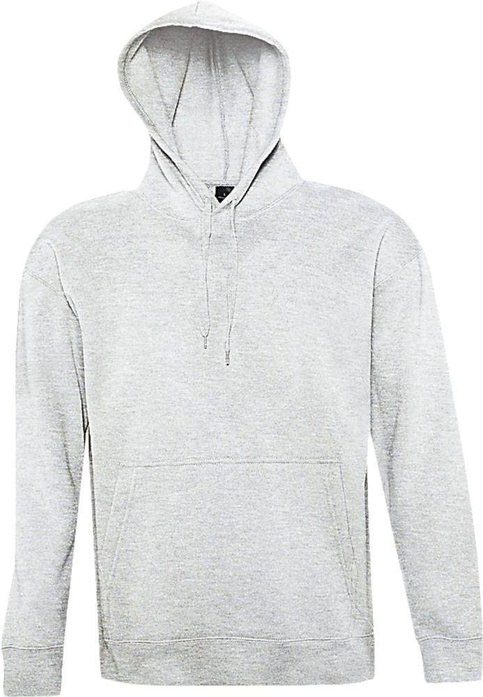 Толстовка с капюшоном SLAM 320, светло-серый меланж, размер XS толстовка с капюшоном slam 320 серый меланж размер xl