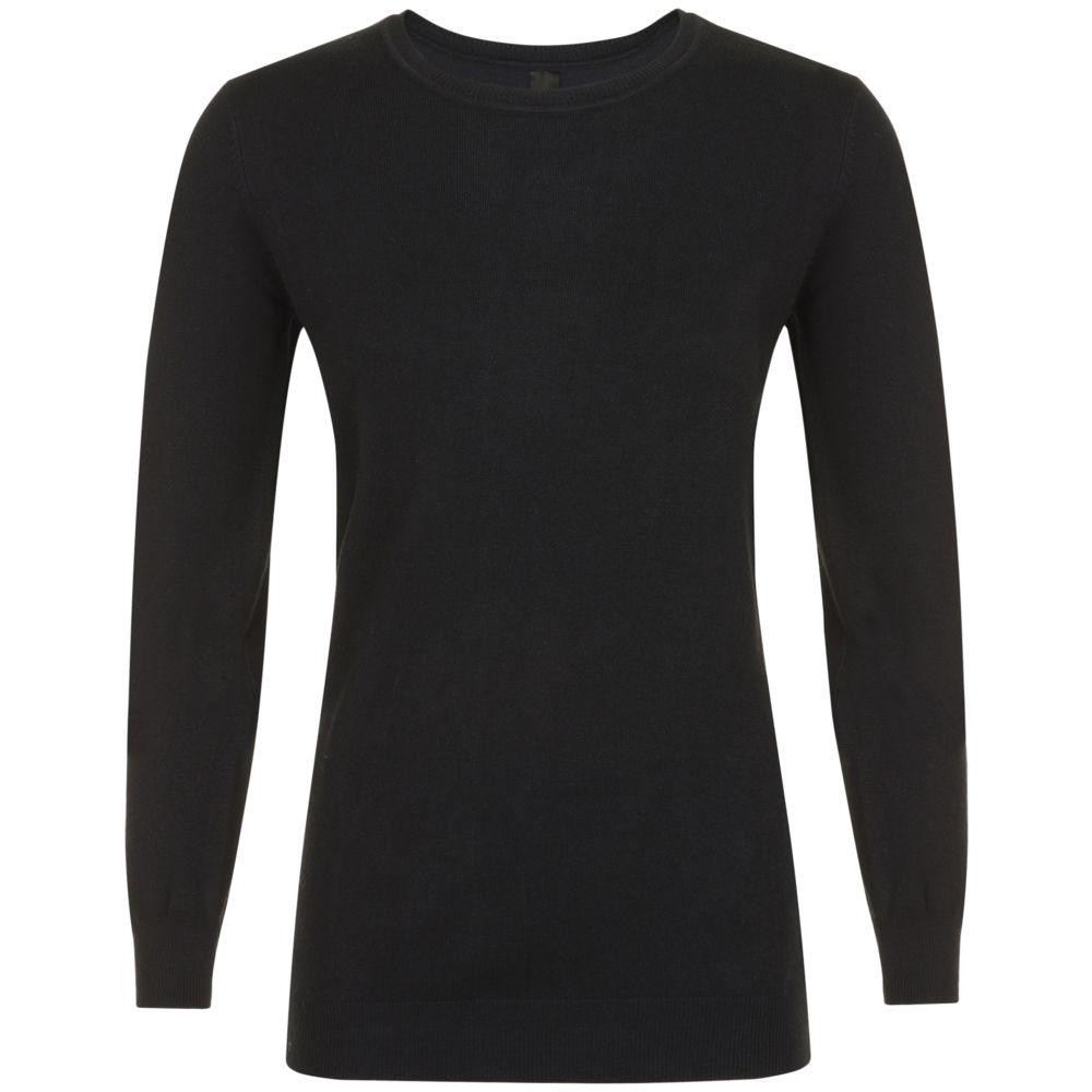 Джемпер женский GINGER WOMEN, черный, размер XL цена 2017