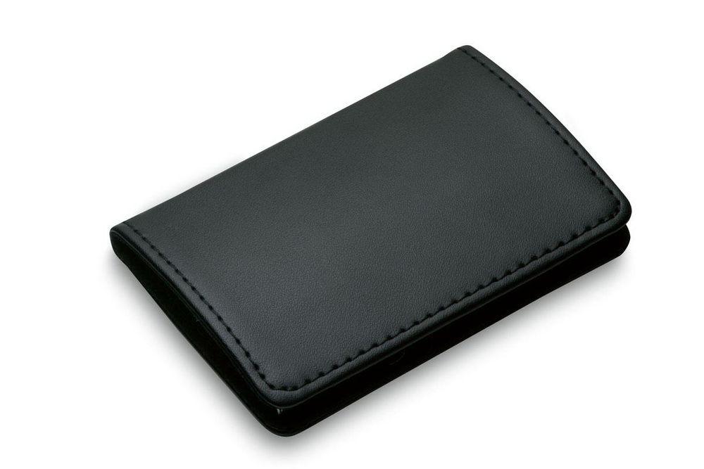 Футляр для визитных карт Gianni, черный футляр для банковских карт dimanche
