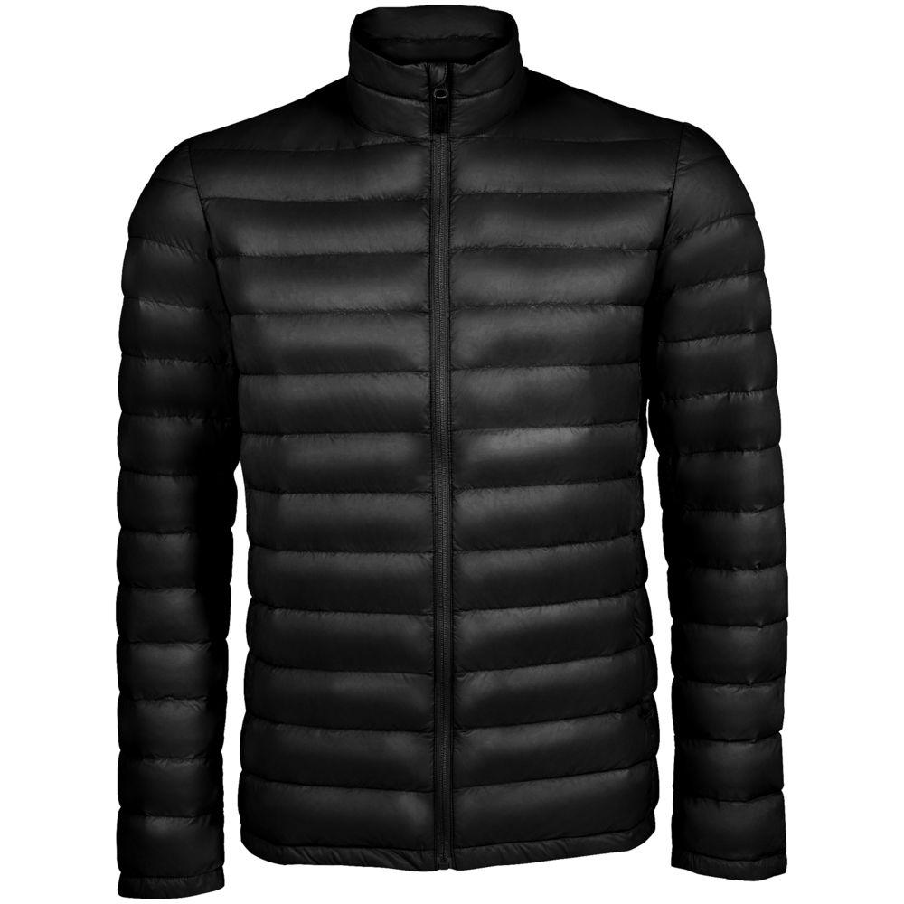 Фото - Куртка мужская WILSON MEN черная, размер XL куртка мужская wilson men черная размер xxl
