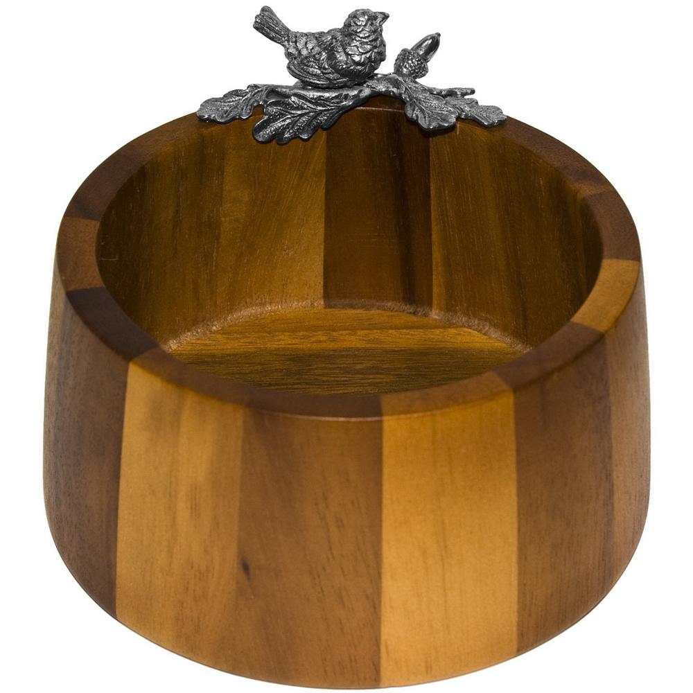 Орешница-конфетница «Певчая птичка» конфетница rosenberg 8383