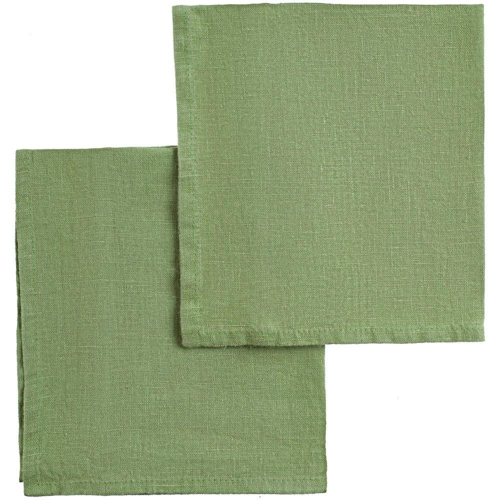 Набор салфеток Fine Line, зеленый набор полотенец fine line красный