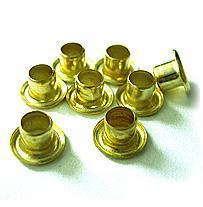 Люверсы / Колечки Piccolo (золото), 5.5 мм, 8000+-10% шт, 1 кг фото