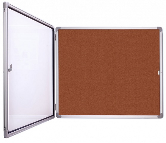 Доска-витрина, Magnetoplan 112x108.5 см  - купить со скидкой