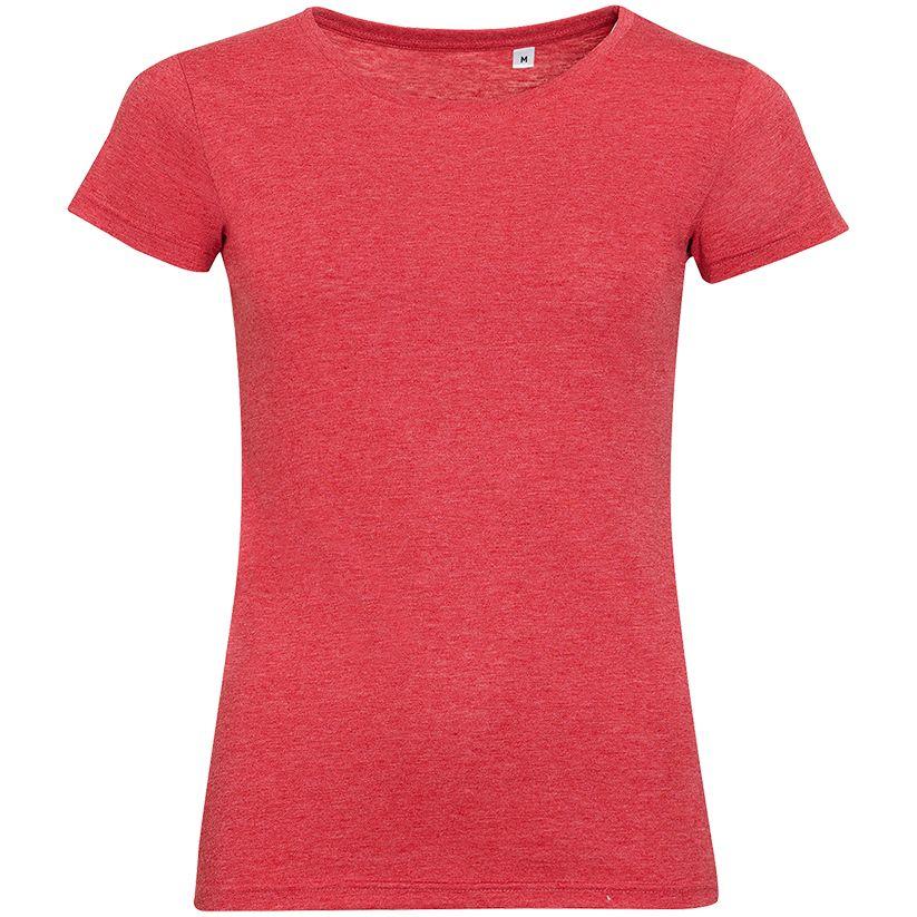 толстовка запорожец белка женская серо черный красный меланж l Футболка женская MIXED WOMEN, красный меланж, размер L