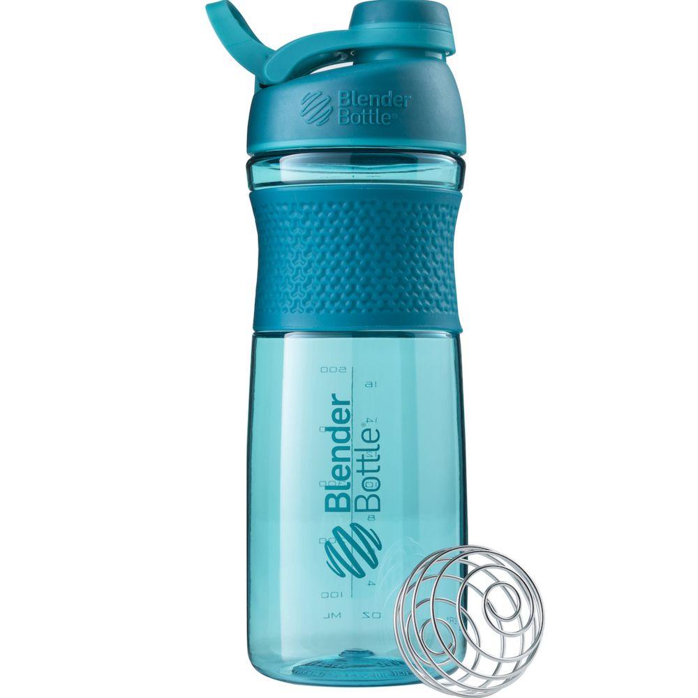 Спортивный шейкер SportMixer Twist Cap, большой, морской голубой топ спортивный anta anta mp002xw1gqcb