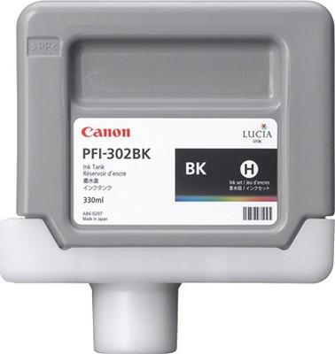 Фото - Canon PFI-302BK Black 300 мл (2216B001) вентилятор охлаждения deepcool 300 cpu 12cm pwm