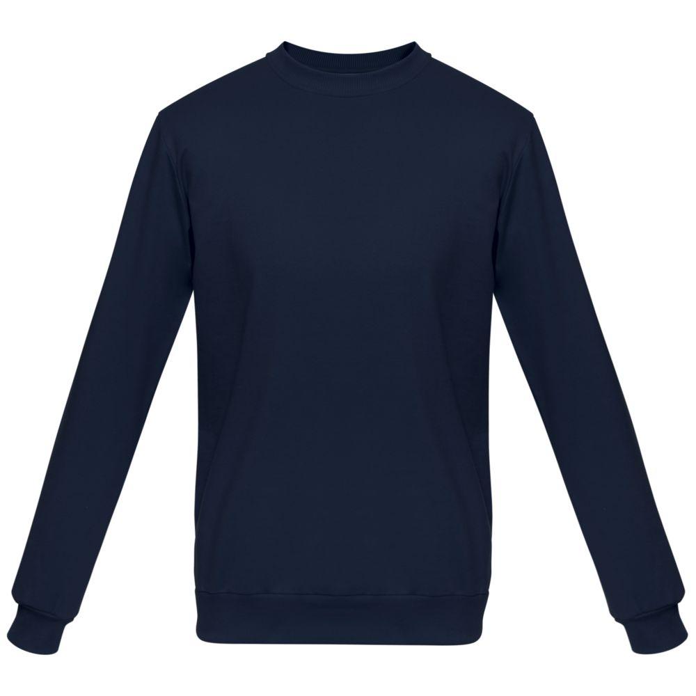 Толстовка Unit Toima, темно-синяя, размер 4XL