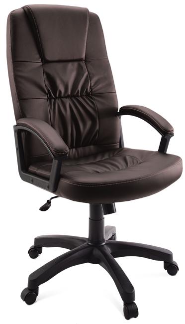 Кресло руководителя Гелеос Гранд, коричневое