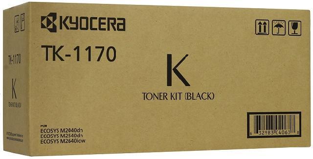 Фото - Тонер-картридж Kyocera TK-1170 картридж kyocera tk 8600c