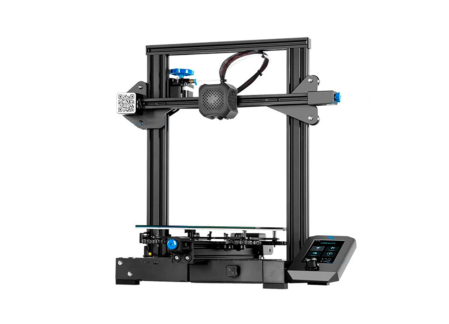 Creality Ender-3 V2 creality ender 3d printer ender 3 or ender 3 pro diy kit meanwell power supply for 1 75mm pla abs petg from russia