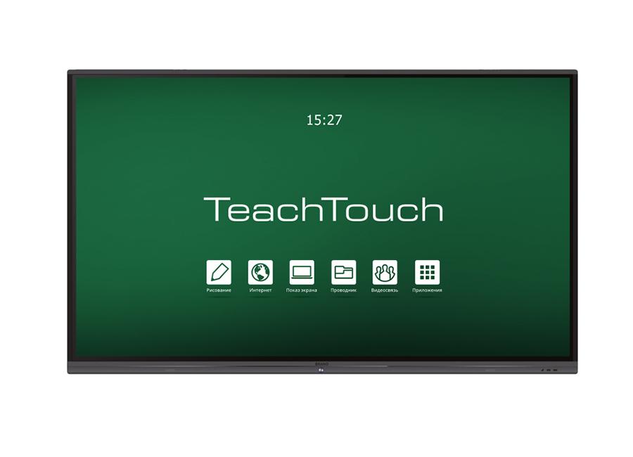 Фото - Интерактивный комплекс TeachTouch 4.0 SE 65, UHD, 20 касаний, PC, Win 10 40914 лента для принтеров lm 150 lp 350 pc ii белая шрифт голубой пластик 9 ммх7 м 1