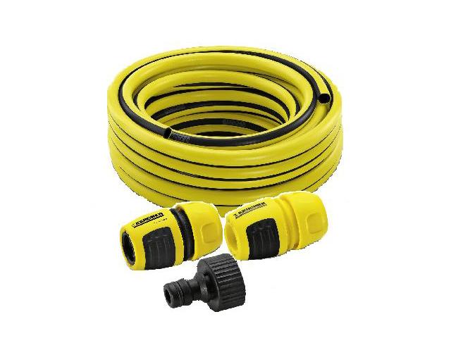 Фото - Набор для подключения к водопроводу комплект для подключения авд шланг адаптеры karcher 2 645 156