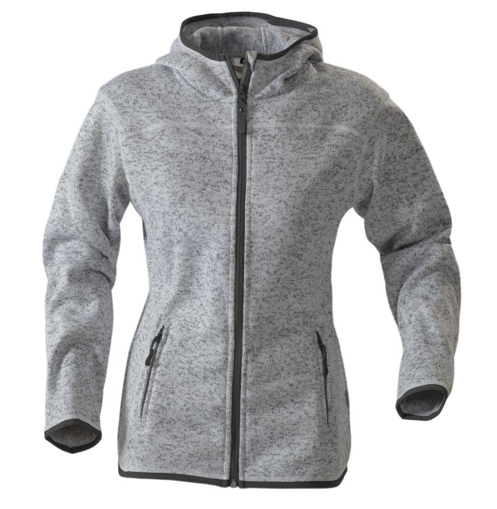 Куртка флисовая женская SANTA ANA, серый меланж, размер M