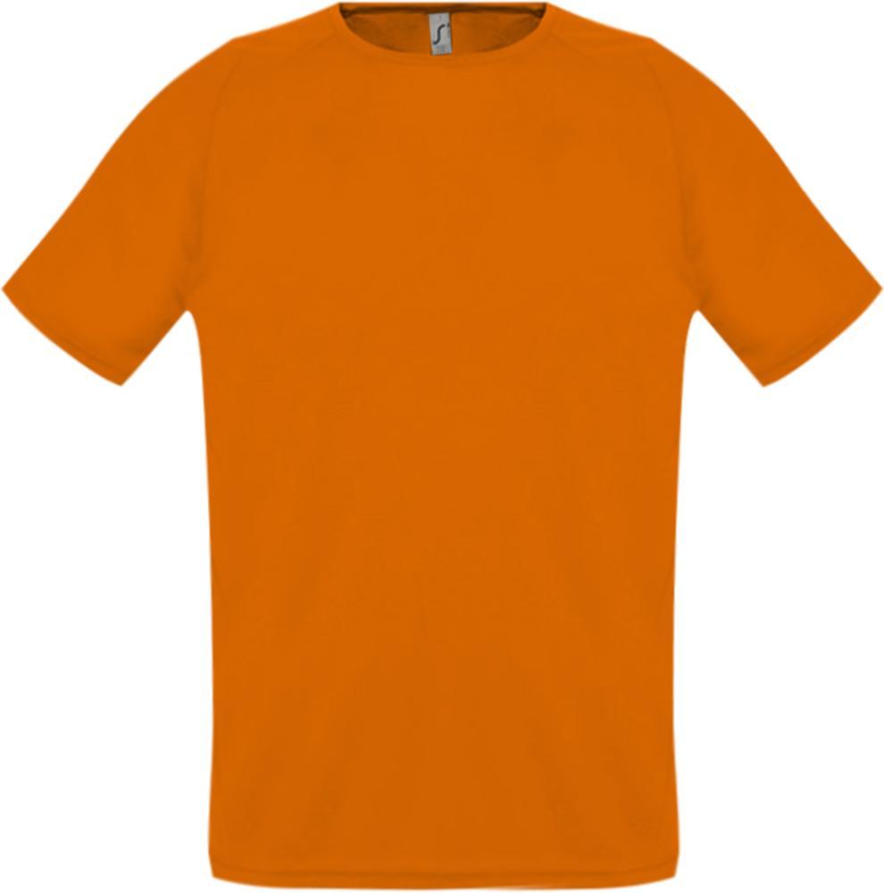 Футболка унисекс SPORTY 140 оранжевая, размер S футболка для мальчиков termit размер 140