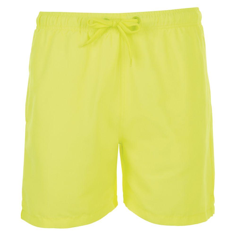 Шорты мужские SANDY желтый неон, размер L