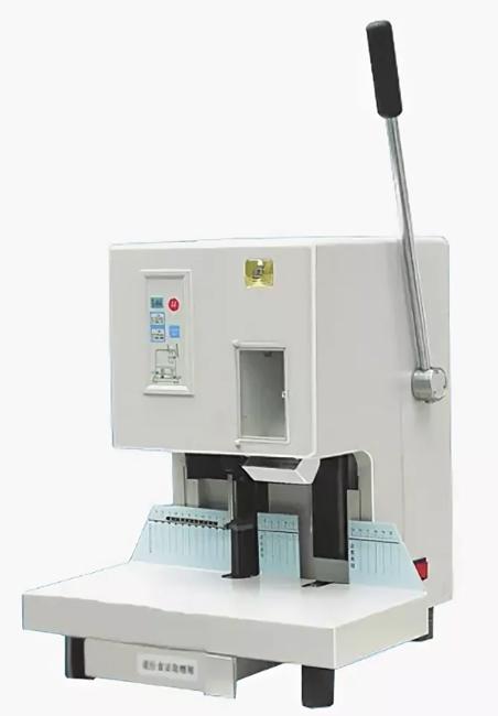 Фото - Аппарат для установки пластиковых люверсов ZB-6100B пассатижи для установки люверсов 31083