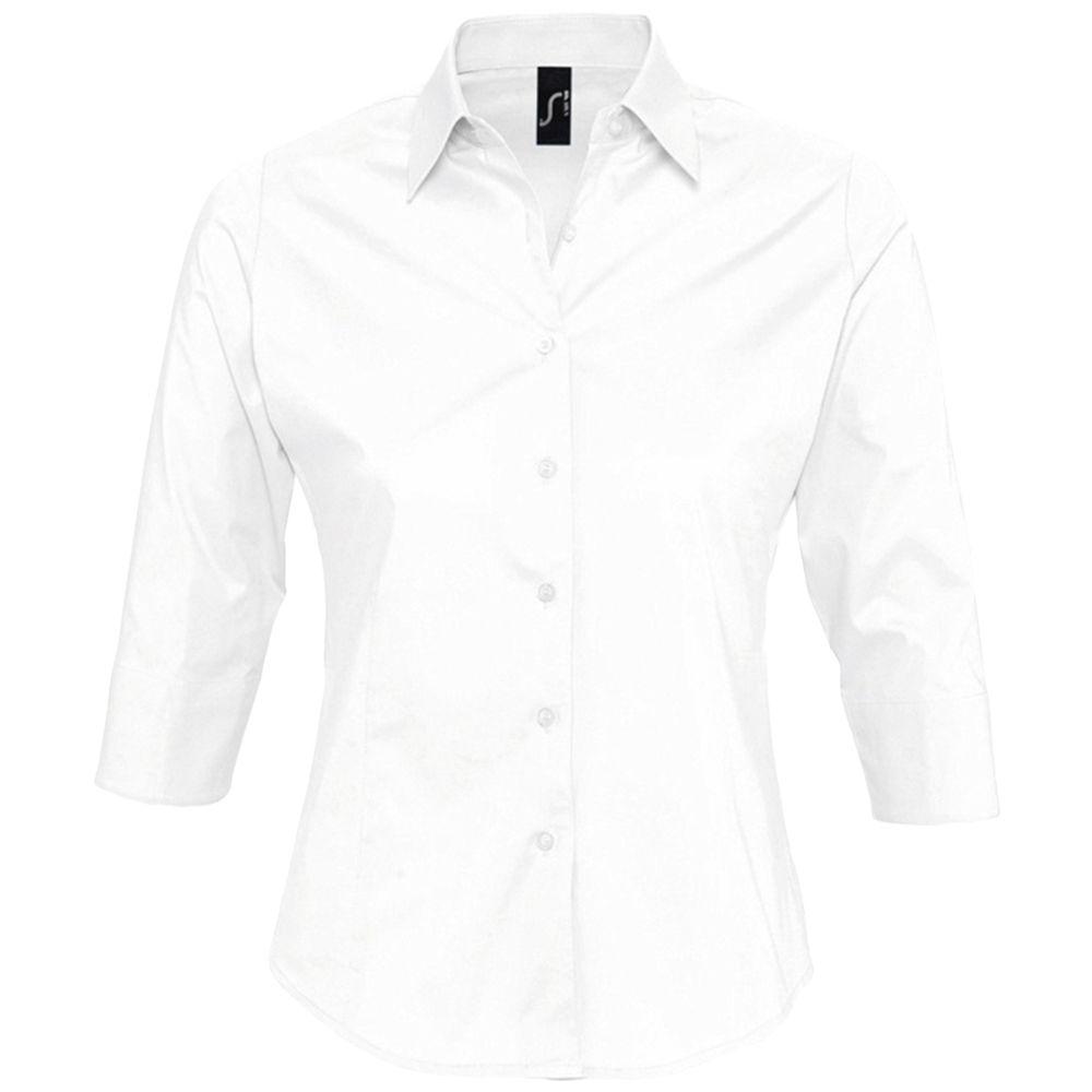 Рубашка женская с рукавом 3/4 EFFECT 140 белая, размер S vili s 3 4 4 3 black