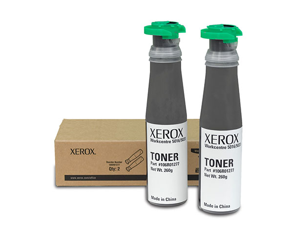 Тонер-картридж 106R01277 картридж xerox 106r01277 для wc 5016 5020 в 1 упаковке 2 тубы чёрный 12600 страниц