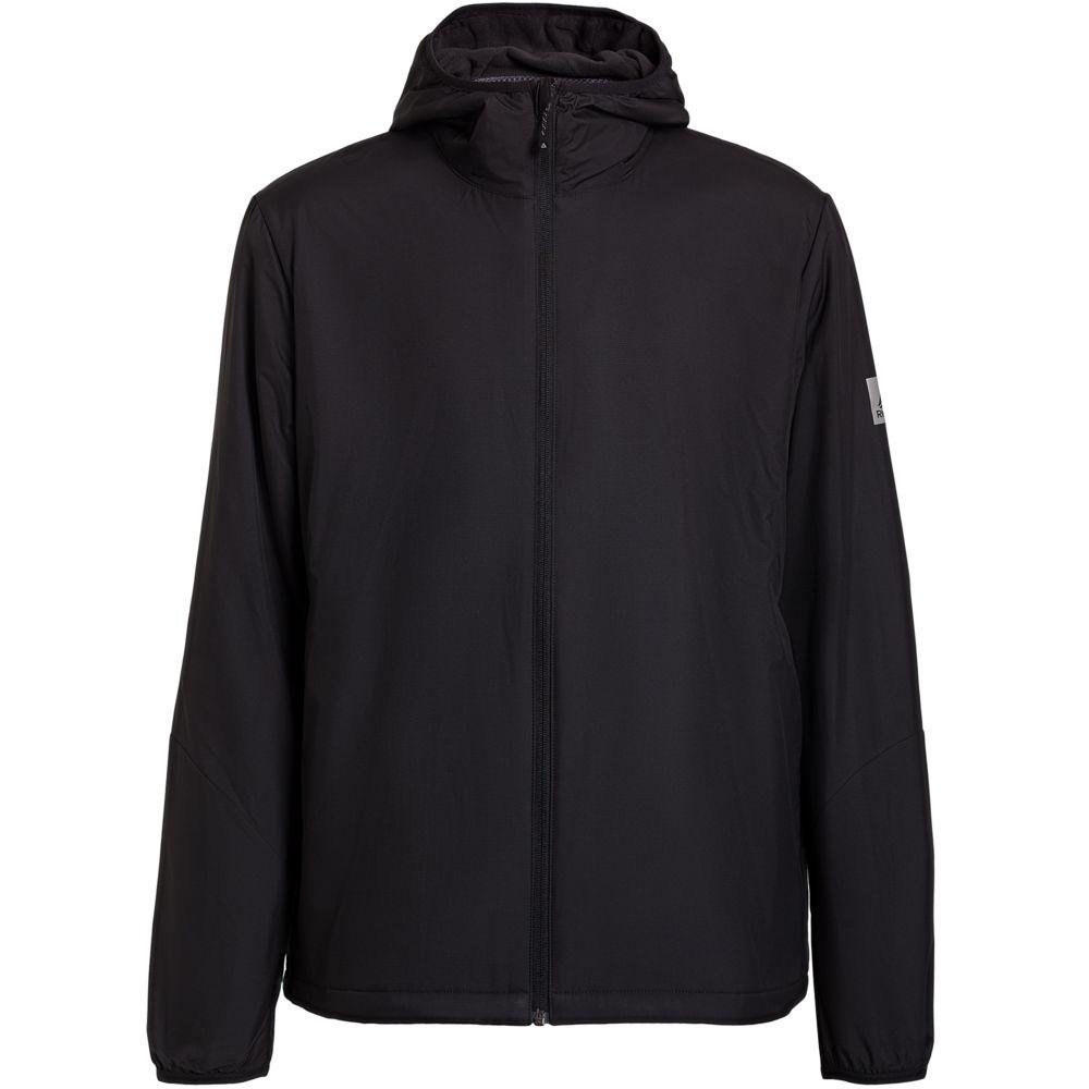 Куртка мужская Outdoor с флисовой подкладкой, черная, размер 2XL