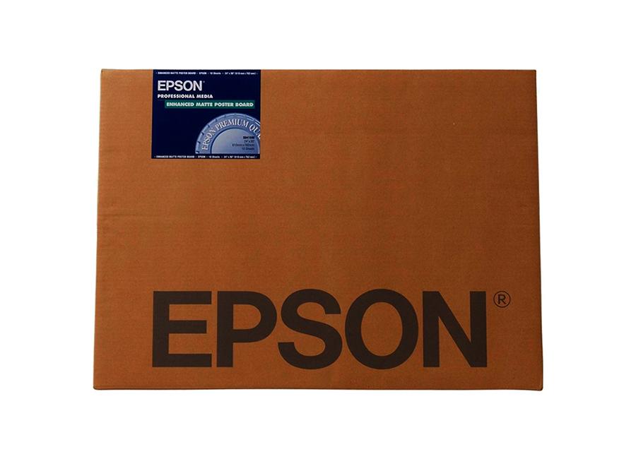 Фото - Epson Enhanced Matte Posterboard A2, 850 г/м2, 20 листов (C13S042111) printio плакат a2 42×59 радость идет против основ математики леттеринг