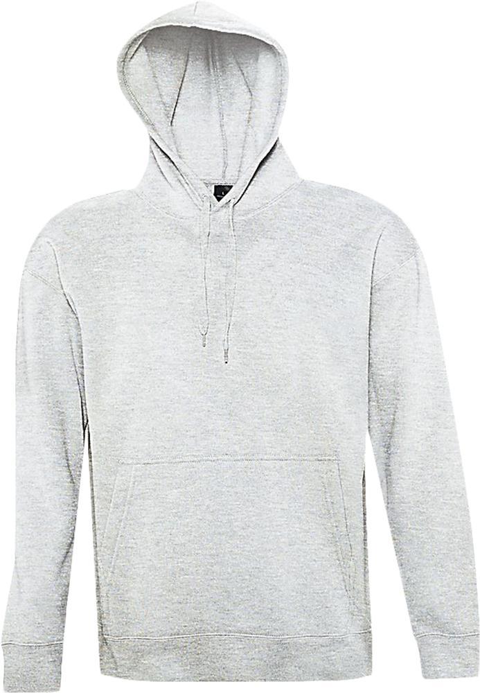 цена Толстовка с капюшоном SLAM 320, светло-серый меланж, размер L онлайн в 2017 году