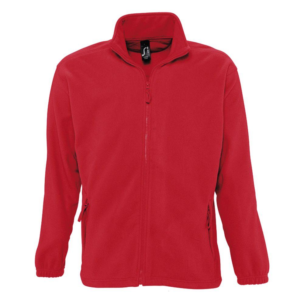 Куртка мужская North красная, размер 4XL