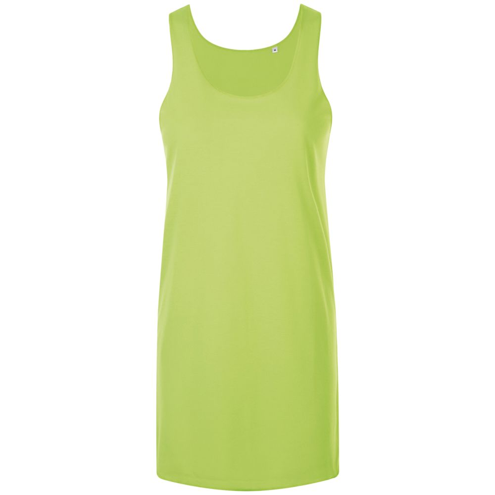 Платье-футболка COCKTAIL зеленый неон, размер XS/S платье oodji ultra цвет красный белый 14001071 13 46148 4512s размер xs 42 170