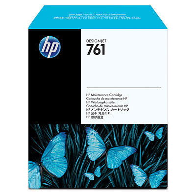 Фото - Обслуживающий картридж HP DesignJet 761 для HP Designjet T7100 (CH649A) картридж hp cf212a