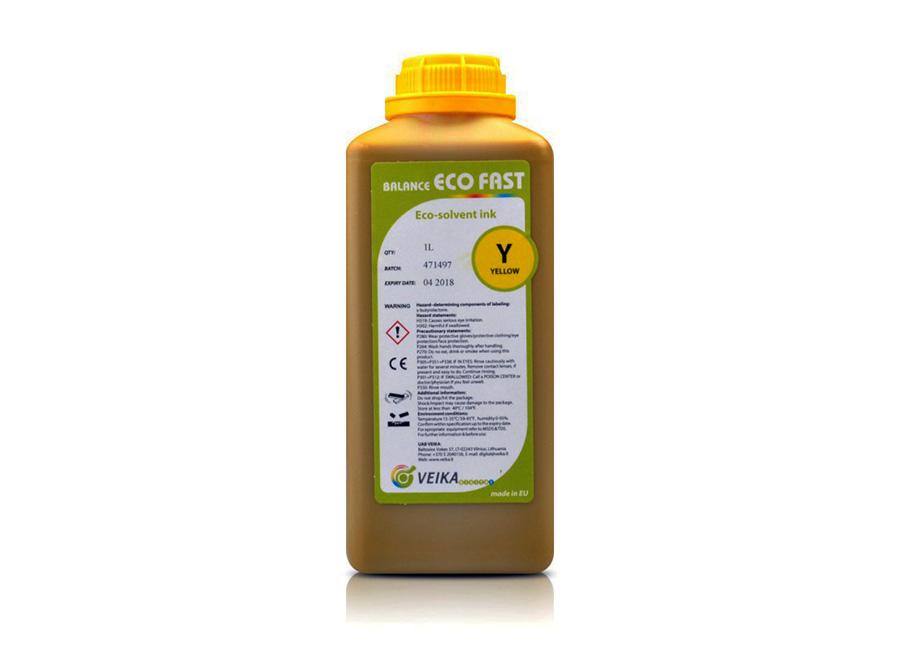 Фото - VEIKA Balance Eco Fast (Yellow), 1 л (бутыль) наполнитель для кошачьего туалета icat lavander силикагелевый впитывающий 5 л