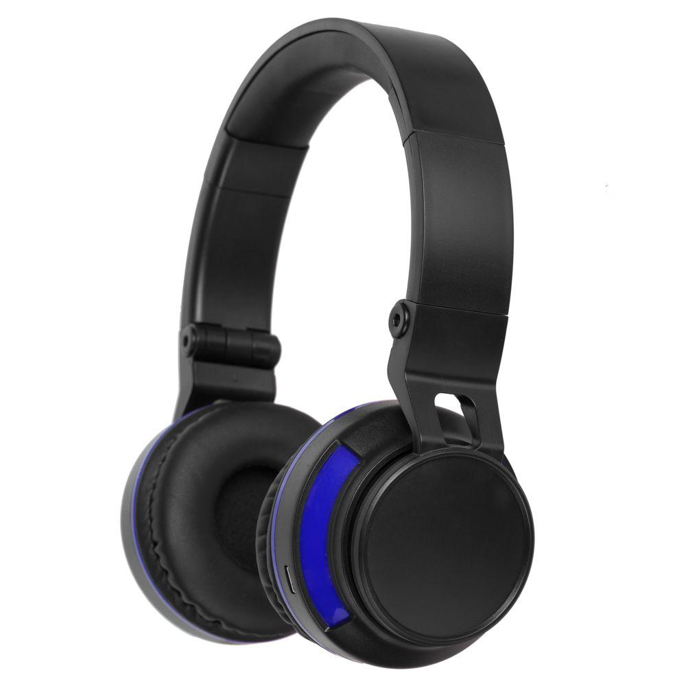 Фото - Bluetooth наушники Dubstep с синей отделкой шуба из меха кролика с отделкой натуральной замшей