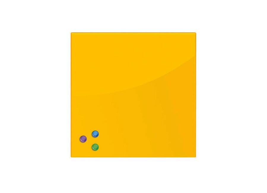45x45 см, желтая, 3 магнита (236739) fotoniobox лайтбокс голова давида 45x45 037
