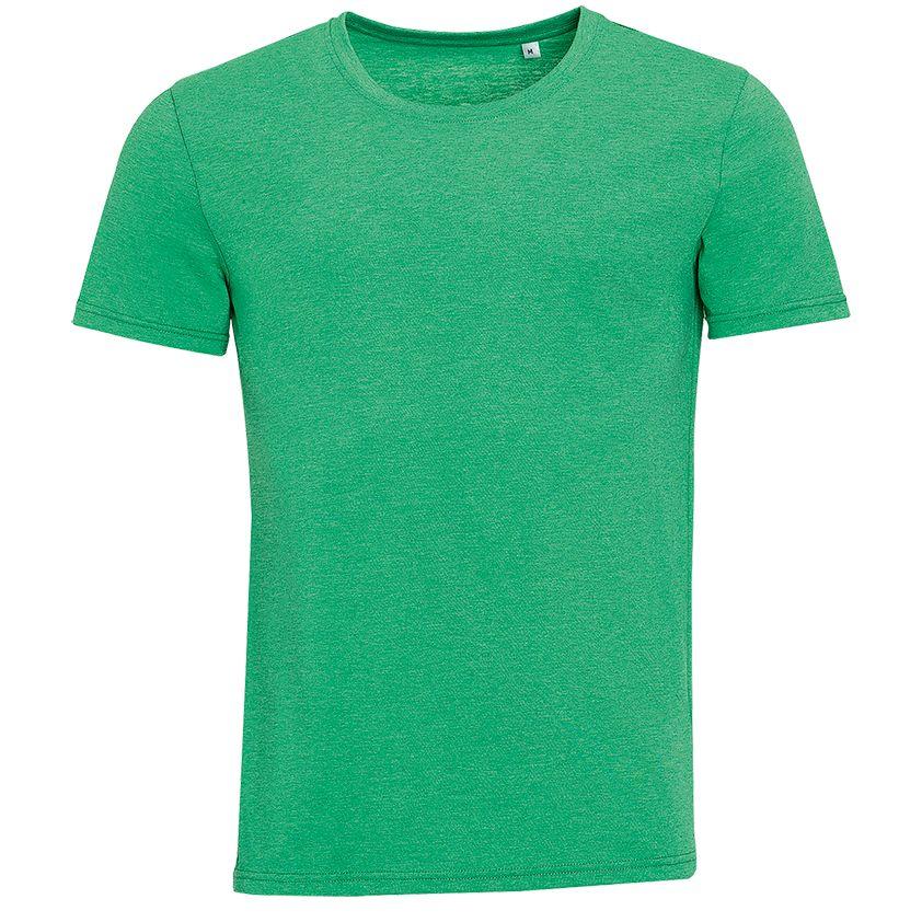 Футболка мужская MIXED MEN, зеленый меланж, размер XL фото