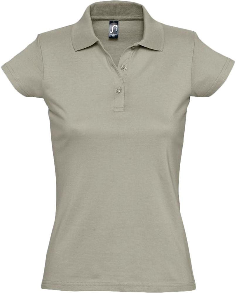 Рубашка поло женская Prescott women 170 хаки, размер L фото