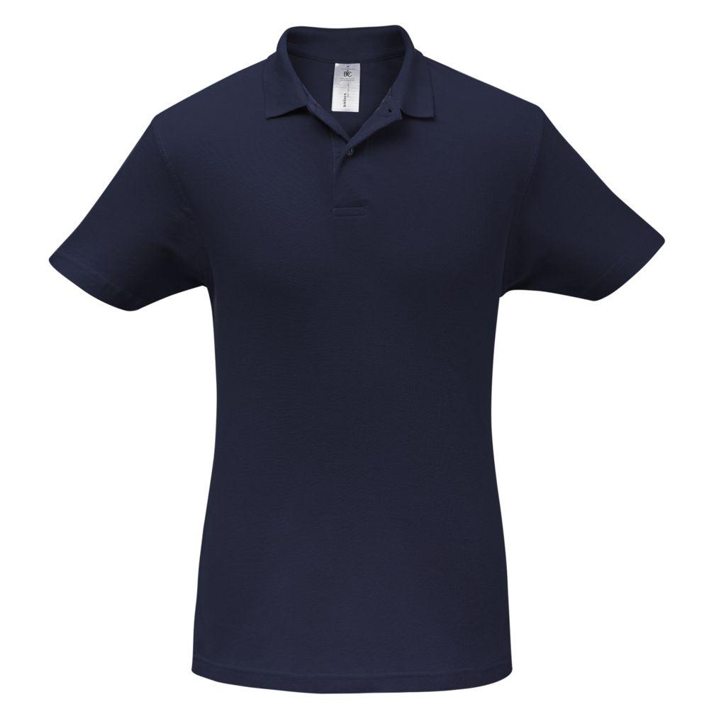 Рубашка поло ID.001 темно-синяя, размер XXL рубашка поло safran темно синяя размер xxl