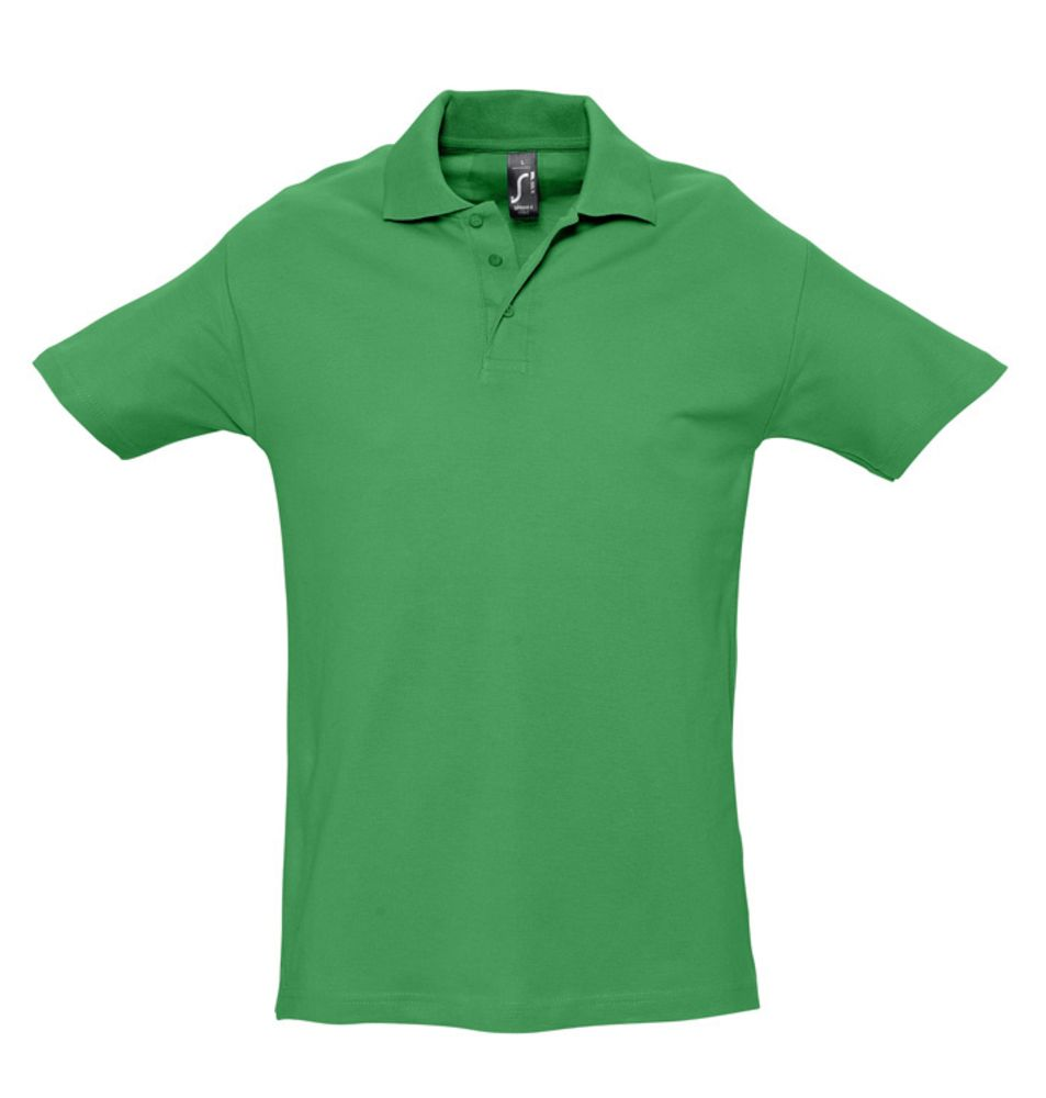 Рубашка поло мужская SPRING 210 ярко-зеленая, размер L серьги альдзена s 15056