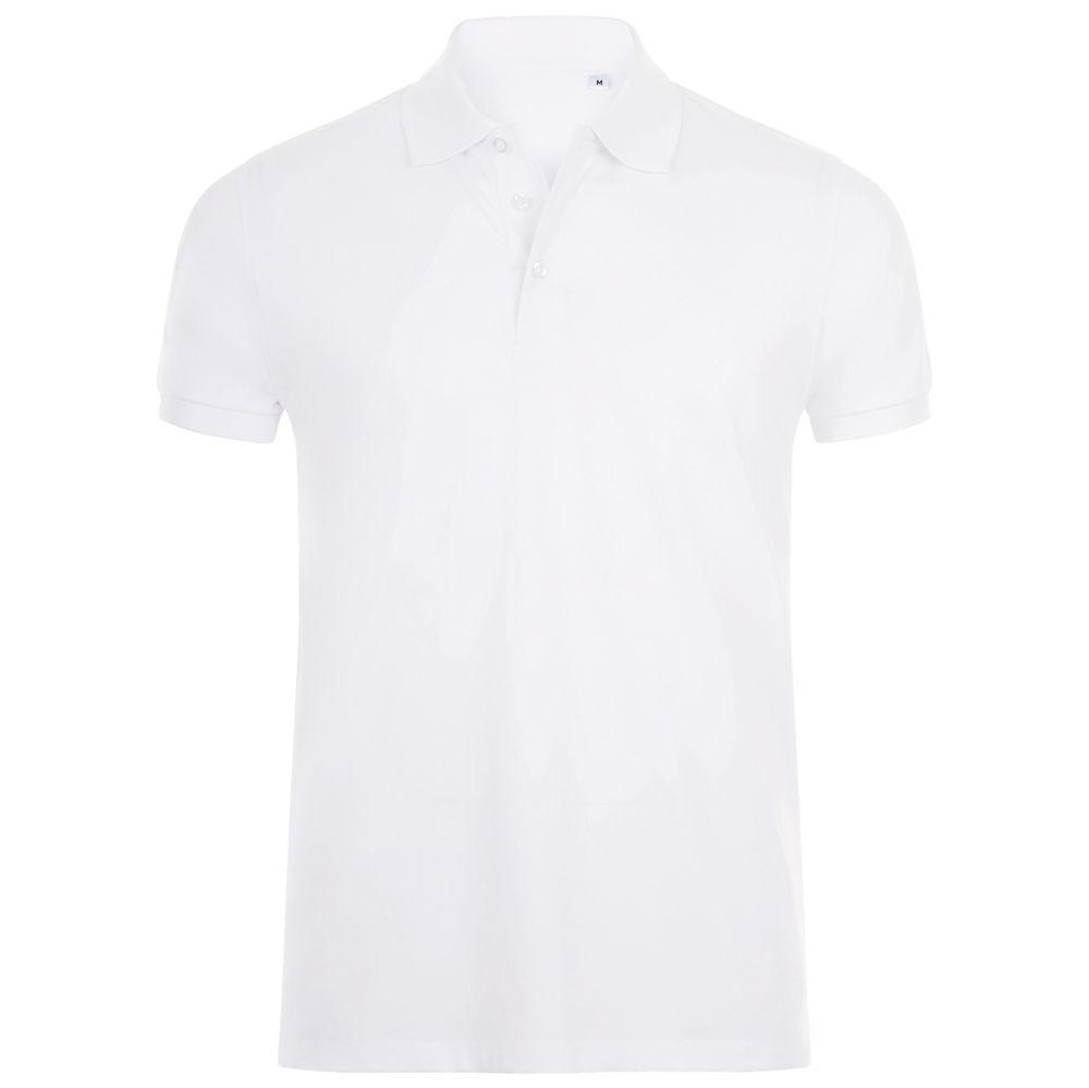Рубашка поло мужская PHOENIX MEN белая, размер M