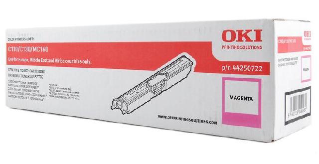 Тонер-картридж OKI TONER-M-C110/130/MC160-2.5K (44250722)