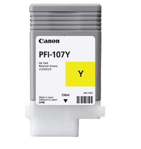 Картинка для Canon PFI-107Y Yellow 130 мл (6708B001)