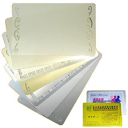 Фото - Металлические заготовка JSMP для визитной карточки iq карточки с веселыми заданиями для развития внимания и памяти 36 игр 18 карточек 6