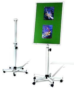 S01 Мобильная подставка для досок 120x90 см универсальная мобильная стойка ums 4 для интерактивных досок с крепежом для укф проекторов