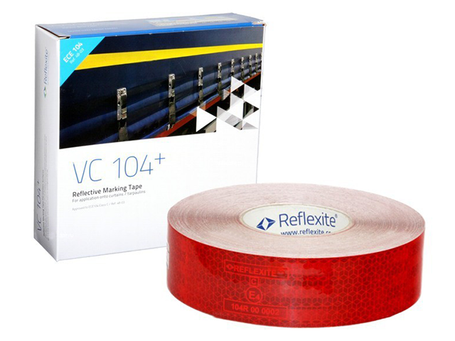 Фото - Oralite/Reflexite VC104+ Curtain Grade для мягкого тента, красная 0.05x50 м oralite reflexite vc104 tanker stickers для жесткого борта для цистерн белая 0 05x10 м