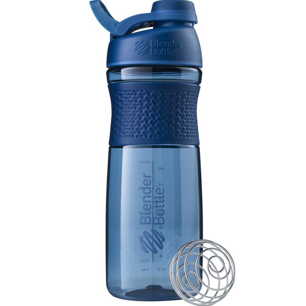 Спортивный шейкер SportMixer Twist Cap, большой, синий