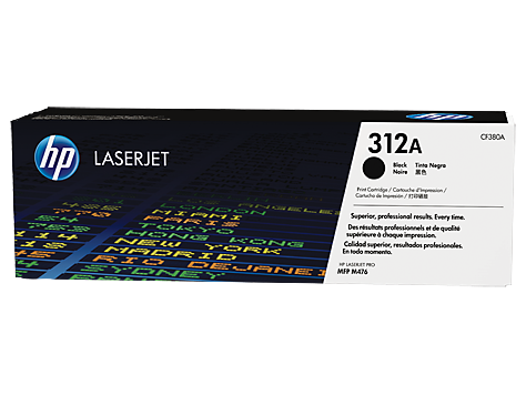 Картридж HP 312A LaserJet (CF380A) compatible for 312x 312a cf380x cf380a cf381a cf382a cf383a 4 pack kcmy toner cartridge for hp color laserjet pro m476dn mfp