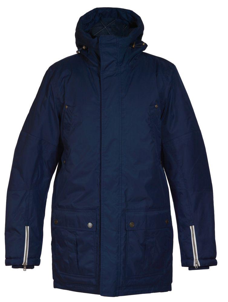 Куртка мужская Westlake темно-синяя, размер M куртка мужская finn flare цвет темно зеленый w18 22011 размер m 48