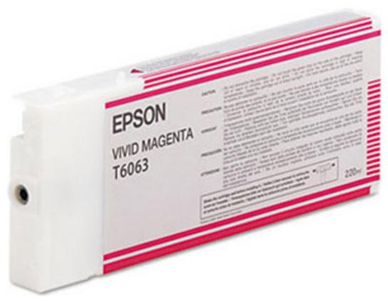 T6063 Vivid Magenta 220 мл (C13T606300) t6053 vivid magenta 110 мл c13t605300