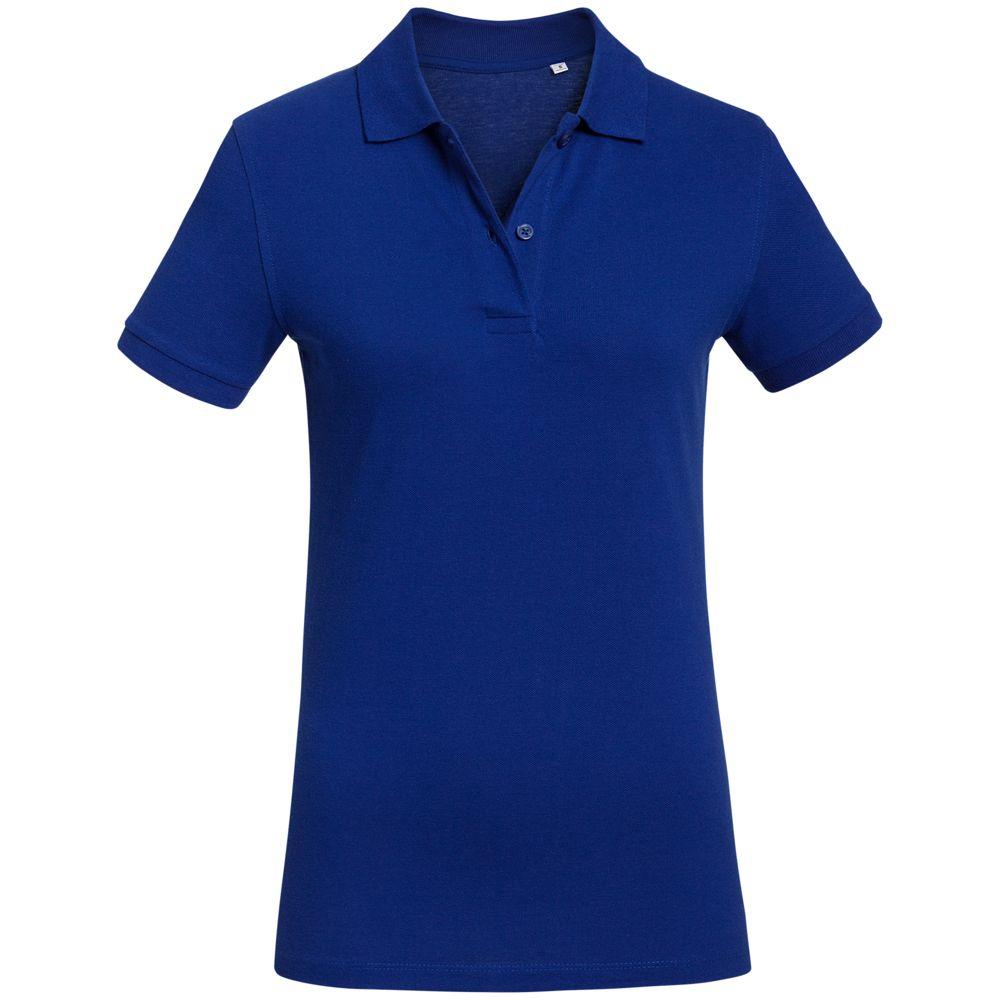 Рубашка поло женская Inspire синяя, размер L