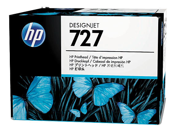 Печатающая головка HP Print Head №727 (B3P06A) печатающая головка hp print head 72 photo black